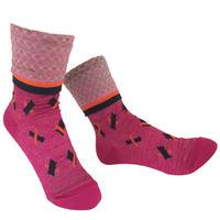 【Socks】 Baton Socks     NS245Y-34 (¥2,400 +tax)