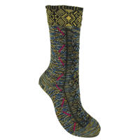 【Socks】Tyrolean tape  Socks    NS229K-3color (¥2,200 +tax)