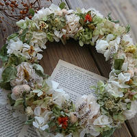 Spring  Wreath White