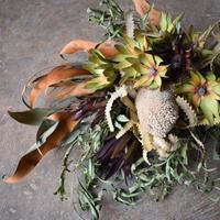 野の花屋  ワイルドフラワードライスワッグ