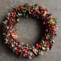 野の花屋 オータムリース