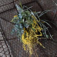 野の花屋  mimoza swag
