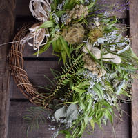 野の花屋 kusabana wreath