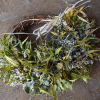 野の花屋 kusabana wreath 2