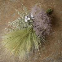 野の花屋  スモークツリーとグラススワッグ