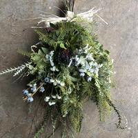 野の花屋    ナチュラルグリーンスワッグ