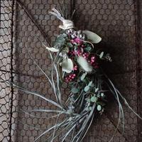 野の花屋  ピンクペッパーのグリーンスワッグ