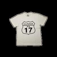 GUNMA-17×NoN`s design T-Shirt(White)