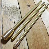 ALL真鍮製火吹き棒「野良ブラスター」【ロングver.】 3本継90cm