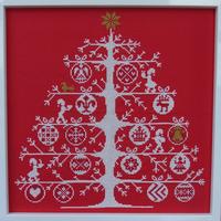 アルネ&カルロス Arne&Carlos/クロスステッチクリスマスツリー