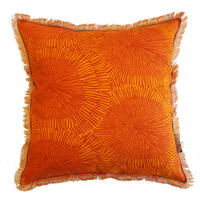 Maskros Orange クッションカバー (45cm x 45cm)