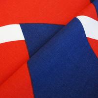 <受注販売> Dubbelflatan Red Blue ファブリック (幅147cm x 長さ120cm)