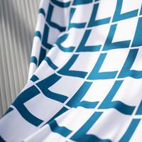 <受注販売> Linie Blue ファブリック (幅148cm x 長さ120cm)