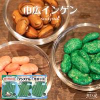 巾広インゲンセット / 送料込 種セット 54g ギフト