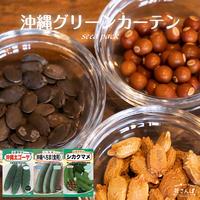 沖縄グリーンカーテンセット(ニガウリ/へちま/シカクマメ) / 送料込 種セット 26g ギフト