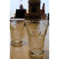 ラ・ロシェール 貝のモチーフのグラス