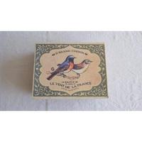 小鳥の紙箱