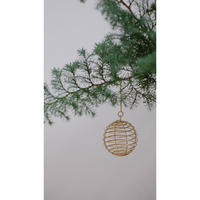 クリスマスの飾りpleine lune