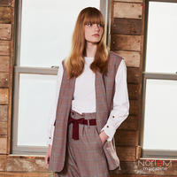 【ALYSI】(08255008)ベスト NorieM magazine #34 P40掲載