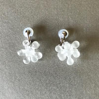 Pasha Earrings Clear Frost / パシャイヤリング  クリアフロスト