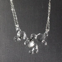 Bubbly Cube Necklace / バブリーキューブネックレス