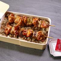 《本体価格より10%OFF》古処鶏(こしょどり)大焼鶏串弁当 / 4人前※5月末まで