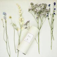 Flower vase + Colorful flowers set