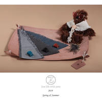 Herringbone glitter scarf  SS~S size
