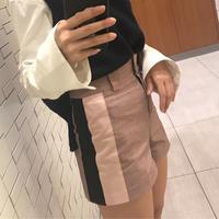 plaid line pants