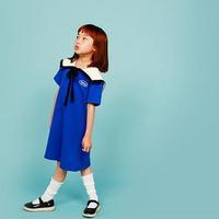 썸머세일러 드레스 [ 블 루 ] | summer sailor dress〔ブルー〕
