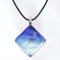 【夏限定】Blue Ocean Square<海の謌 umi no uta  GLASS JEWELRY> [UPMS-005]