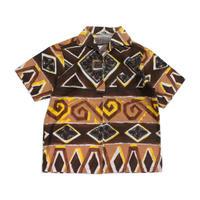 60's〜 Hanakahi Hawaiian Shirts (about M) ジップアップ ハワイアンシャツ アロハシャツ