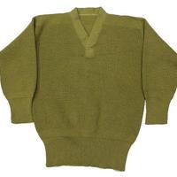 40's USAAF WWII TYPE A-1 V-Neck Wool Knit Sweater Vネック ニットセーター