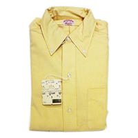 NOS 60's BROOKS BROTHERS OX FORD  BD SHIRT (14 1/2) デッドストック ブルックスブラザーズ ボタンダウンシャツ 黄色