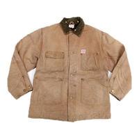 50's CARHARTT Blanket  Lined Brown Duckk Chore Jacket  (40) カーハート ブラウンダック カバーオール  ブランケットライナー