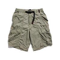 90's〜 GRAMICCI  Nylon Shorts MADE IN USA (M) グラミチ ナイロン ショーツ ダークカーキ系
