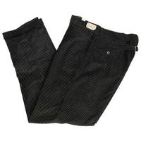 NOS 50's Unknow Tapered Corduroy Trouser With Buckle Back (34×30) デッドストック コーデュロイ テーパード スラックス シンチバック