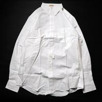 NOS 80's  L.L.Bean Bean's Oxford Cloth Shirts (15 1/2-35) デッドストック LLビーン オックスフォードシャツ  白