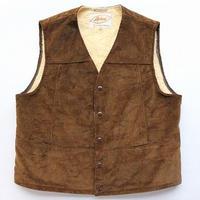 NOS 60's Lakeland Corduroy Boa-Lined  Vest (42) デッドストック レイクランド コーデュロイ ボア ベスト