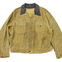50's LEVI'S SHORT HORN SUEDE JACKET (46?)リーバイス ショートホーン スエードジャケット