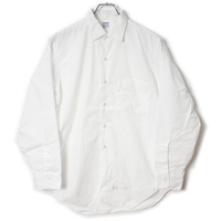 60's ARROW Cotton L/S Shirts (15 2-32) アロー  コットン 白シャツ