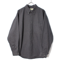 90's ST.JOHN'S BAY Oxford B.D.Shirt (about L) JCペニー オックスフォード ボタンダウンシャツ
