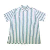 90's L.L.Bean Cool Wave Shirts (XL) LLビーン  ワイドピッチストライプ ショートスリーブシャツ