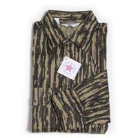 NOS 90's BLACK DUCK REALTREE CAMO Cotton Shirts (L)  デッドストック リアルツリーカモ コットンツイル シャツ