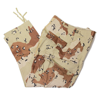 NOS 90's TROUSERS, DESERT CAMOUFLAGE PATTERN, COMBAT (SMALL-X-SHORT) チョコチップ 6Cデザート カーゴパンツ
