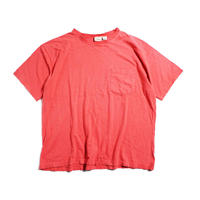 90's L.L.Bean COTTON T-Shirts with Pocket MADE IN USA (XL) LLビーン コットン ポケットTシャツ ポケT ピンク