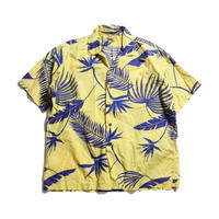 80's L.L.Bean Bean's Hawaiian Print Shirts (L) LLビーン   コットン ハワイアンシャツ