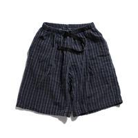 90's GRAMICCI  Cotton Shorts MADE IN USA (S) グラミチ シアサッカー ショーツ 紺系