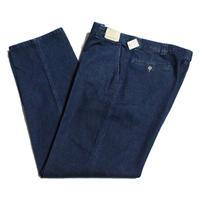 NOS 80's EMS  Denim Trousers MADE IN USA (34/32) デッドストック イーエムエス ノータック デニムトラウザーズ