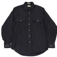 90's JCPenney ST.JOHN'S BAY Chamois Cloth Shirt (M) JCペニー シャモアクロスシャツ チャコール